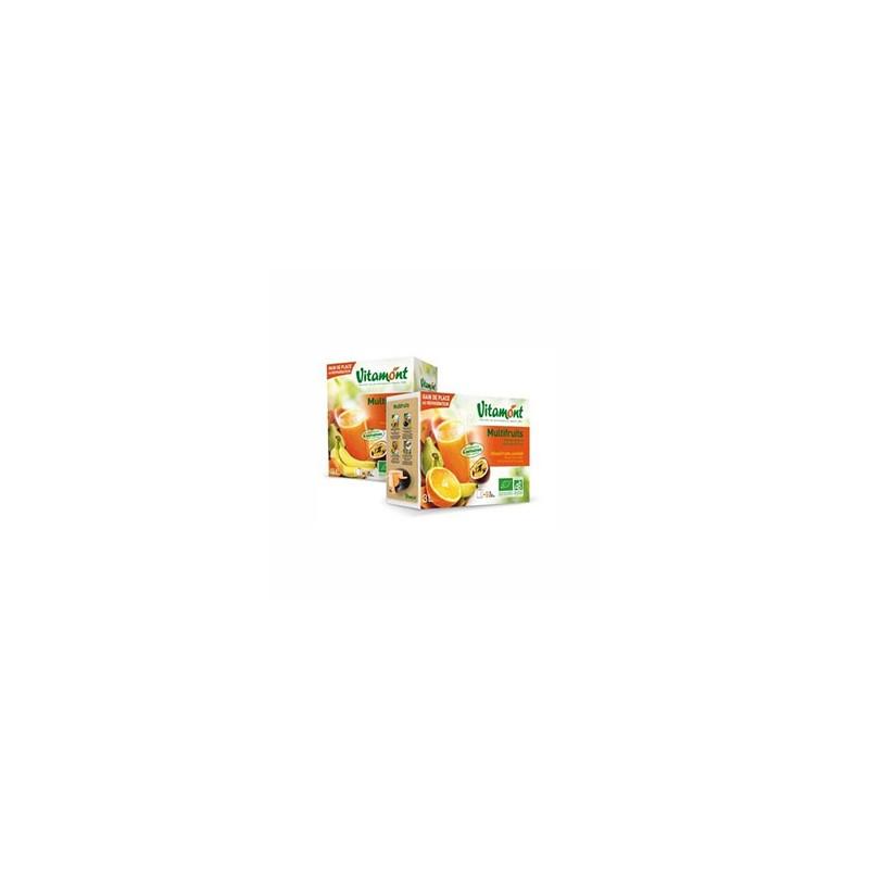 les jus de fruits-Pur jus Multifruits BIO- 3 litres (BIB)-BIODIS