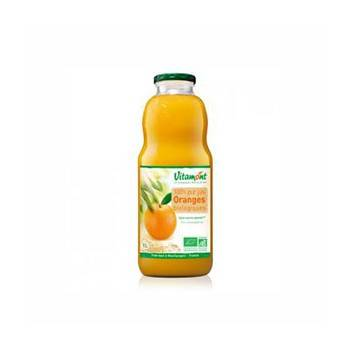 Boisson-Pur jus d'orange bio - 1 litre-BIODIS