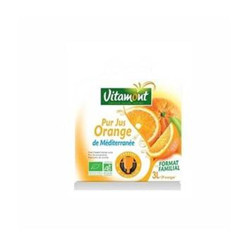 les jus de fruits-Pur jus d'orange bio - 3 litres (fontaine souple)-BIODIS