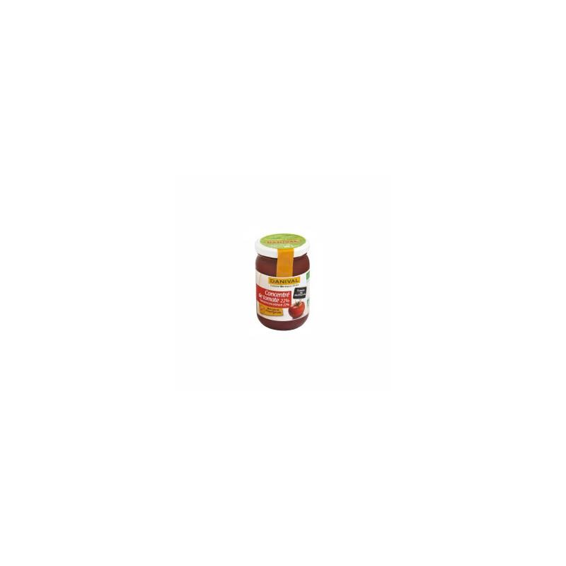 Produits Bio-Concentré de tomates (Marmande) 22% -200 g-BIODIS