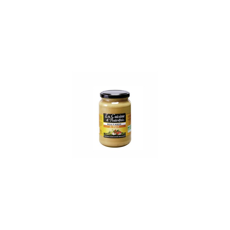 Produits Bio-Moutarde de Dijon bio - 350 g-BIODIS