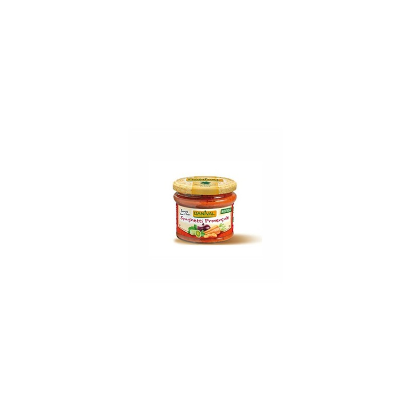 Produits Bio-Sauce spaghetti provençale - 210 g-BIODIS