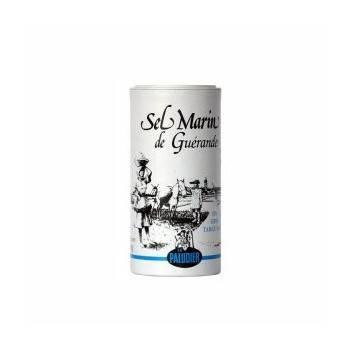 Epicerie salée-Sel fin gris 250 g- Boite verseuse-BIODIS