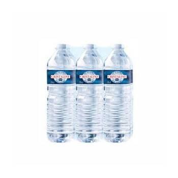 Pack eau cristaline- 6*  1.5 l