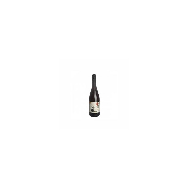 Boissons-Jus pétillant Pomme/ Cassis bio - 75 cl-COTEAUX NANTAIS