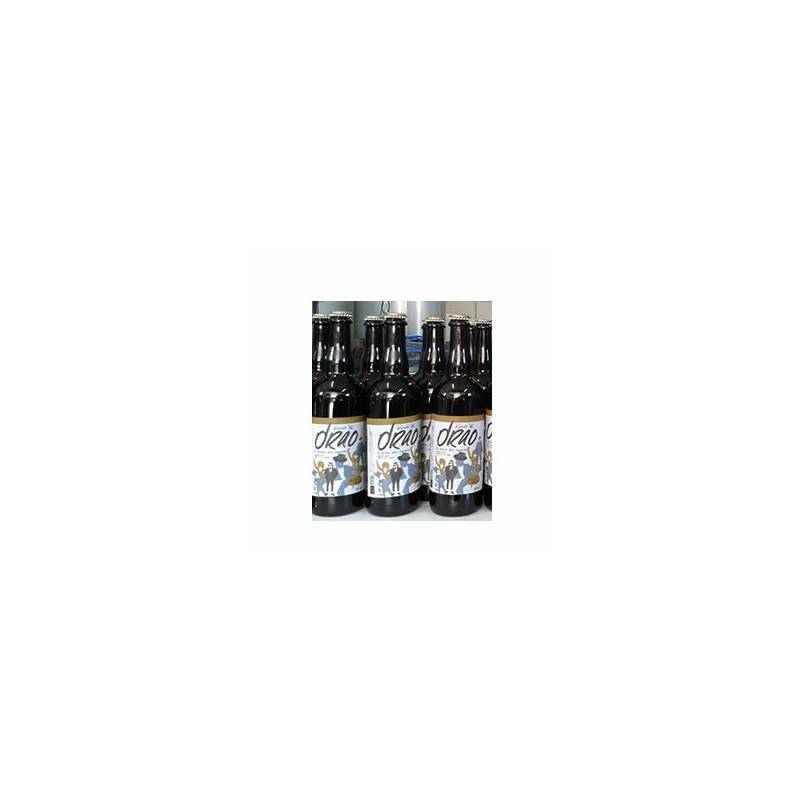 Jus, cidres, bières et vins bio-Bière Drao Blonde bio- 75 cl-DRAO FERME BRASSERIE