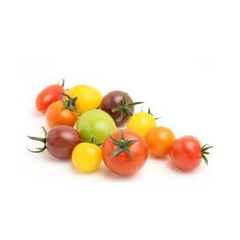 Tomates et concombres-tomate cerise couleur -250grs-SUBERY NON BIO