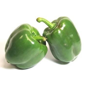 Fruits et légumes-Poivron vert biologique (Espagne) - 500 grs-BIO RENNES