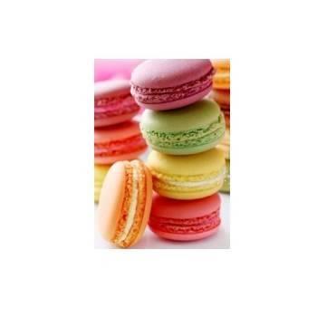 Chocolat et macarons-Macarons sucrés - 6 pièces-FOURNIL DE NICOLAS