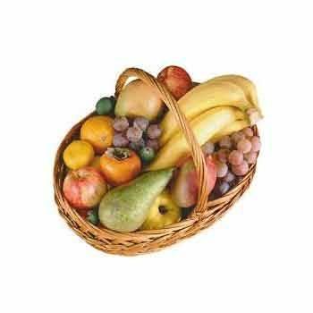 Fruits et légumes-Grand Panier De Fruits - 4 À 5 Variétés +100aine De Fruits-PRODUITS SELECTIONNES