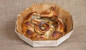 Boulangerie-Croustade aux pommes bio - pièce-Fagots et Froment
