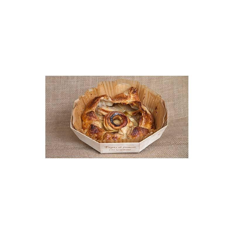 Boulangerie-Croustade Rhubarbe bio - pièce-Fagots et Froment