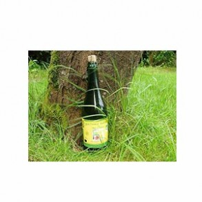 les cidres-Cidre fermier biologique demi-sec en 75 cl-VERGERS DE L'ILLE