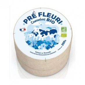 Fromage lait pasteurisé-Camembert fermier Bio - 240 g-BIODIS FRAIS
