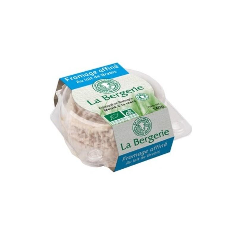 Fromage lait pasteurisé-brebis affiné bio - 140 g-BIODIS FRAIS