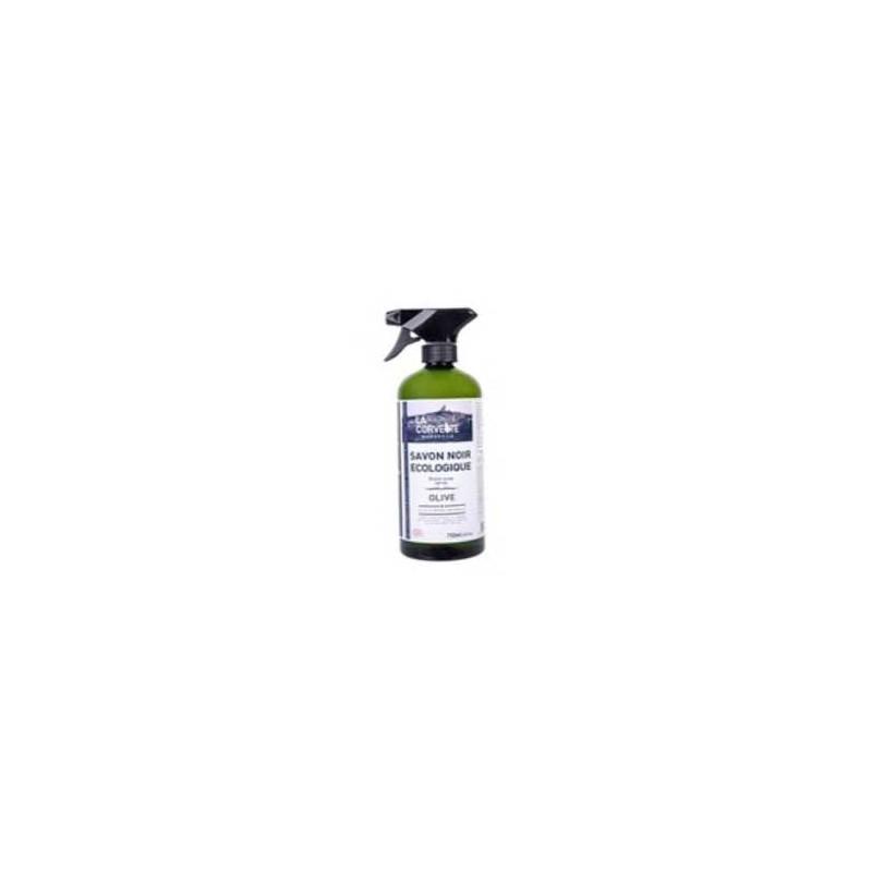Eco produits pour la maison-Savon noir olive en spray- 750 ml-PRODUITS SELECTIONNES