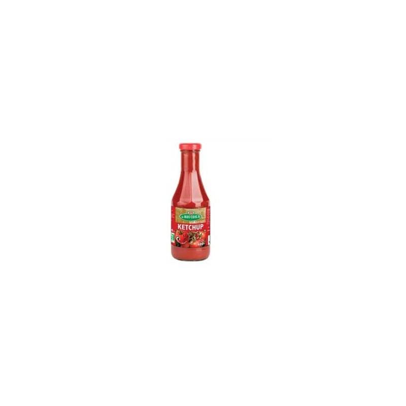 Produits Bio-Ketchup bio (bouteille en verre)- 480 g-BIODIS