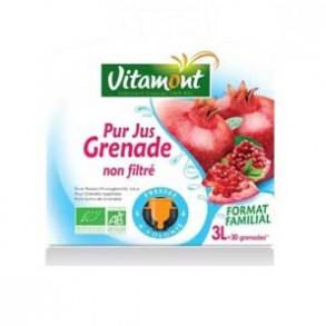 les jus de fruits-Pur jus grenade bio - 3 litres (BIB)-BIODIS