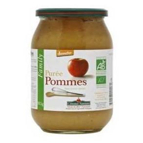Confitures, crêpes et galettes bio-Purée pomme - 915 g-COTEAUX NANTAIS