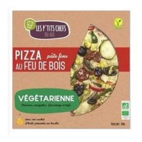 Pizza biologiques-Pizza bio végétarienne- 400 grs-BIODIS