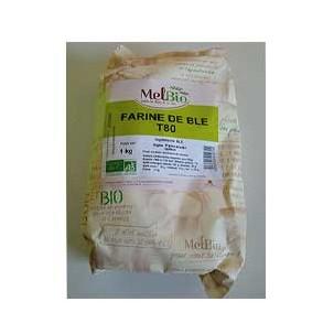 Accueil-Farine de blé - T80- 1kg-BIODIS