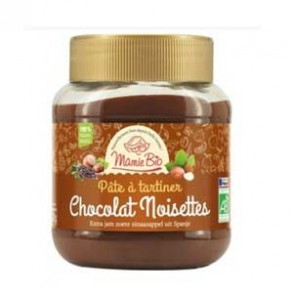 Produits Bio-Pâte à tartiner bio- 350 g (chocolat noisettes)-BIODIS