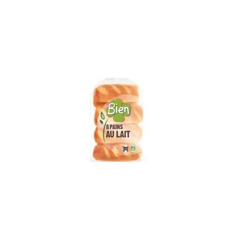 Boulangerie-Pains au lait bio par 8 - 280 g-BIODIS