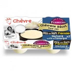 Le frais-Riz au lait fermier nature par 2-CHEVRERIE BECOT