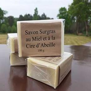 Eco produits pour la maison-Savon au miel - 100 grs-Meslé Jérome