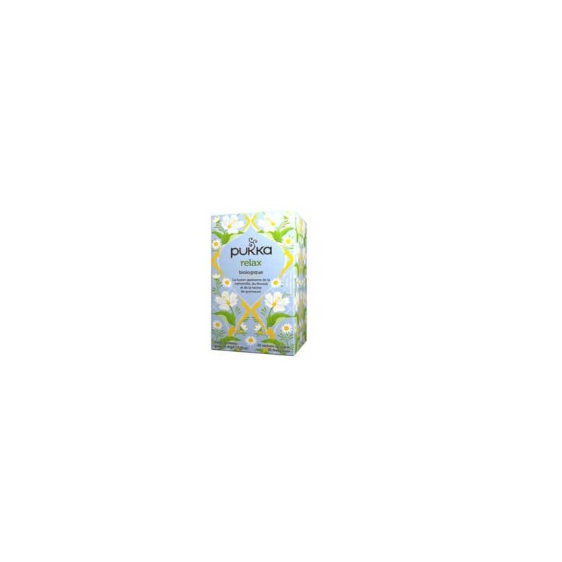 Produits Bio-Infusion relax-20 sachets-BIODIS