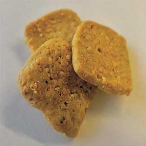 Biscuits apéritifs salés-Biscuits aux graines de sésame-120 grs-Vanessa et Baptiste