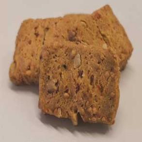 Biscuits apéritifs salés-Biscuits noisettes et piment espelette-120 grs-Vanessa et Baptiste