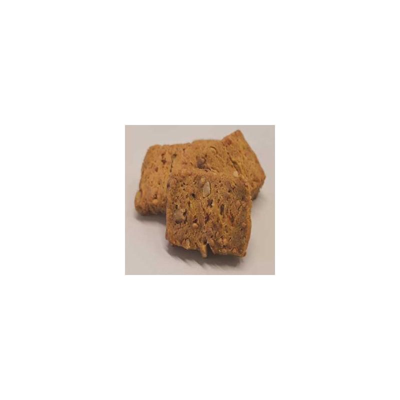 Biscuits apéritifs-Biscuits noisettes et piment espelette-120 grs-Vanessa et Baptiste
