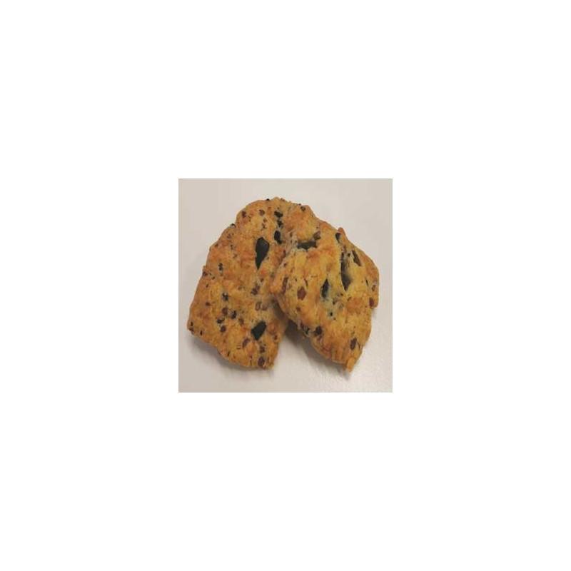 Biscuits apéritifs salés-Biscuits olives et quinoa-120 grs-Vanessa et Baptiste