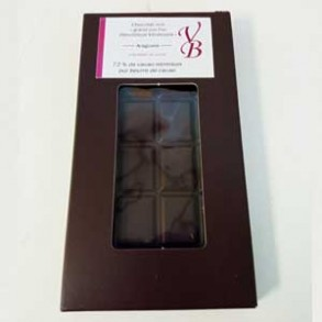 Chocolat noir-Tablette chocolat noir Araguani- 95 g-Vanessa et Baptiste