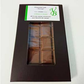 Chocolat lait-Tablette chocolat lait Jivara- 95 g-Vanessa et Baptiste