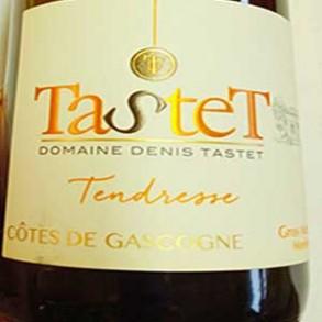 Boissons-IGP Cotes de Gascogne Blanc Tendresse (75cl)-LA CAVE BREALAISE
