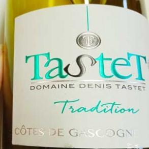 Boissons-IGP Cotes de Gascogne Blanc Tradition (75cl)-LA CAVE BREALAISE