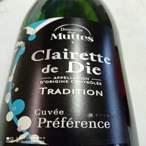 Cidres et vins pétillants-Clairette de Die Cuvée Préférence (75 cl)-LA CAVE BREALAISE