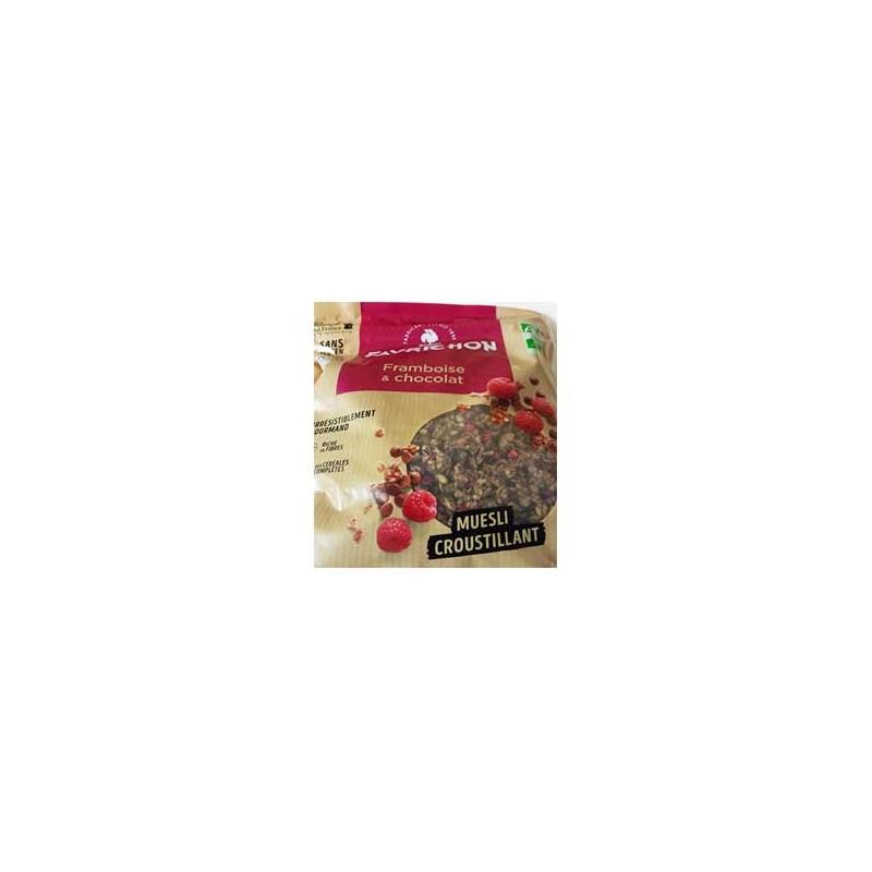 Produits Bio-Muesli Framboise et chocolat - 500 g-BIODIS