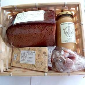 Pâtisserie et biscuits-Le panier apiculteur-PRODUITS SELECTIONNES