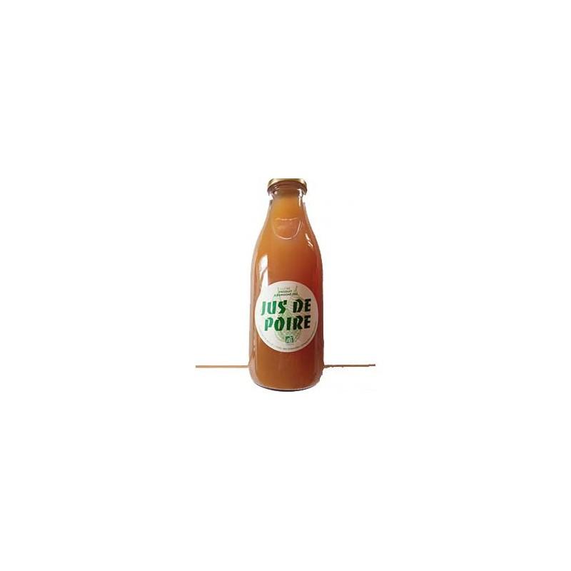 Boisson-Jus de poires bio - 1 litre-GAEC DES GRESLANDES