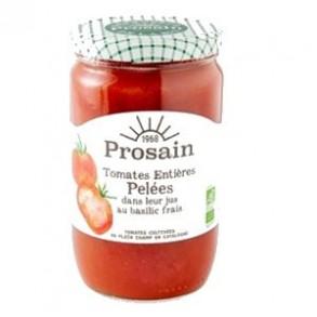 Légumes prêts à l'emploi-Tomates bio entières pelées -390 grs-BIODIS