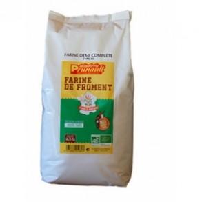Boulangerie-Farine de blé - T80- 2kg500-MINOTERIE PRUNAULT
