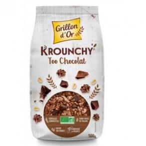 Produits Bio-Krounchy too chocolats bio - 500 g-GRILLON D'OR