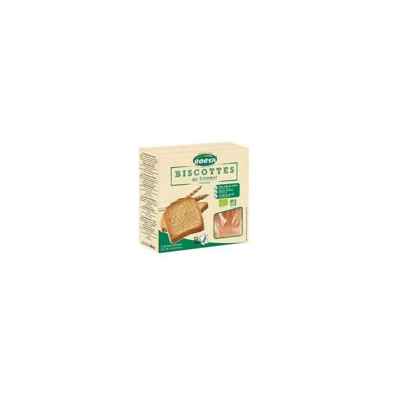 Produits Bio-Biscottes bio -2*17 tranches-BIODIS