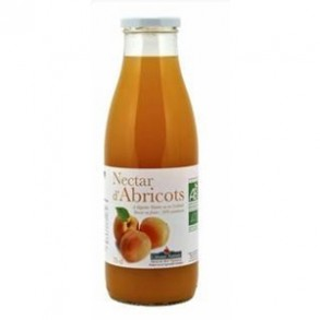 les jus de fruits-Nectar d'abricot (France)- 75 cl-COTEAUX NANTAIS