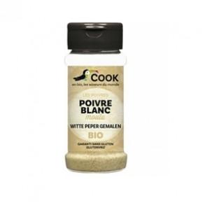 Produits Bio-Poivre blanc poudre demeter bio - 45 g-BIODIS