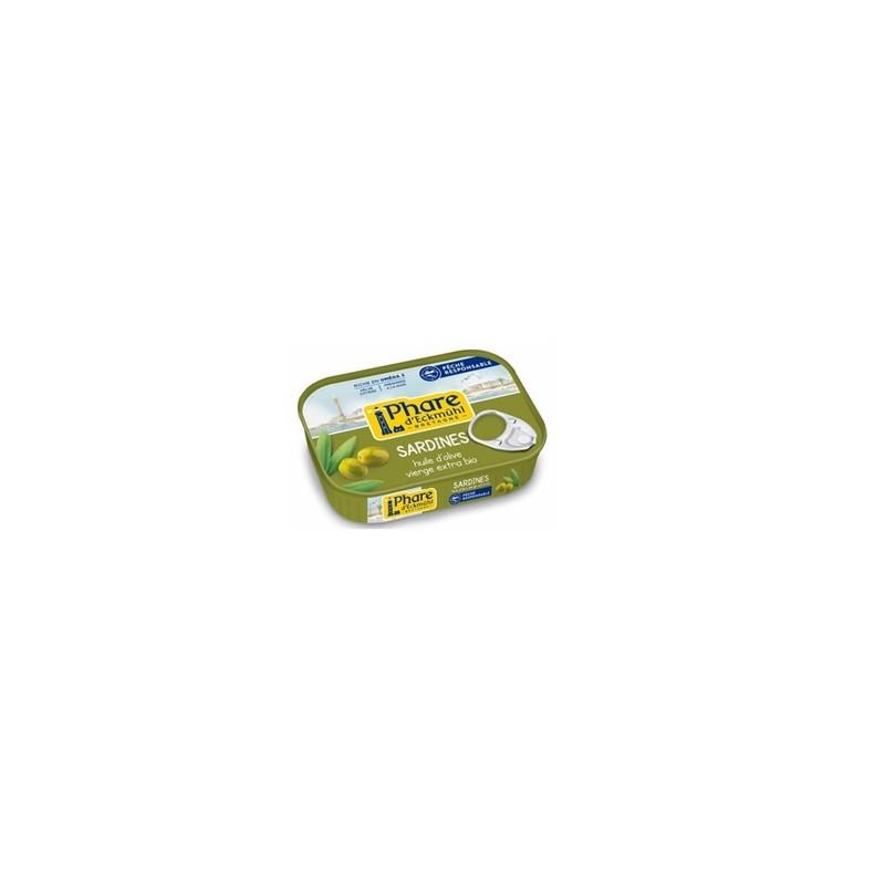 Poissonnerie-sardines à l'huile d'olive - 3 boites*55g-BIODIS