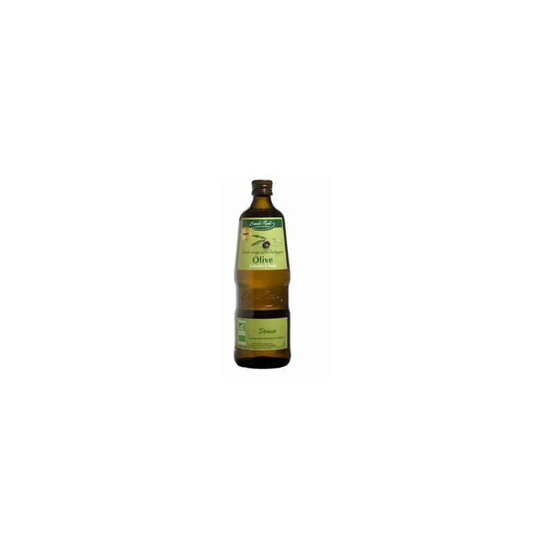 Produits Bio-Huile d'olive bio saveur douce- 1 litre-BIODIS